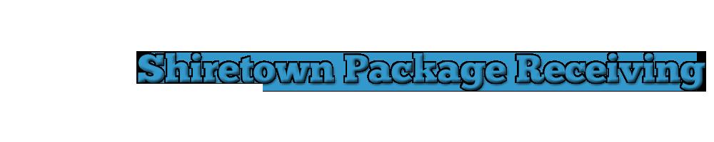 Shiretown Package Receiving Logo